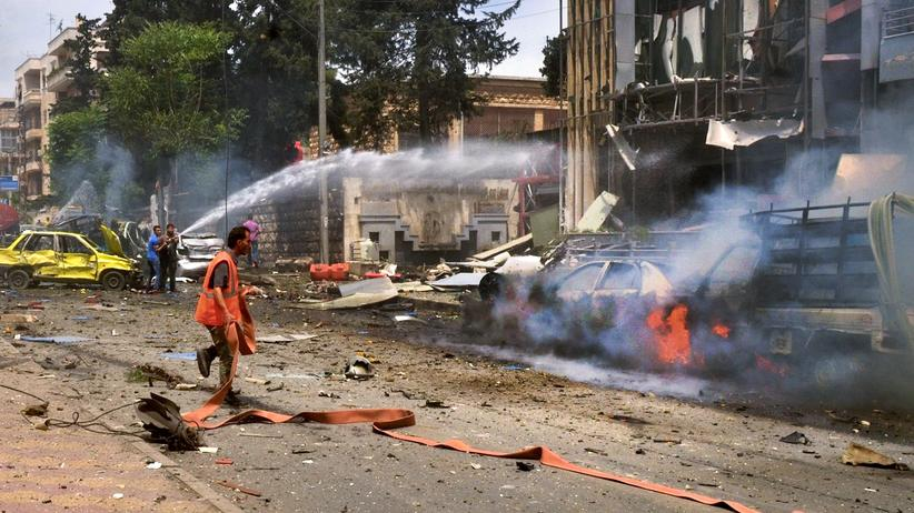 Aleppo Kämpfe Krankenhaus