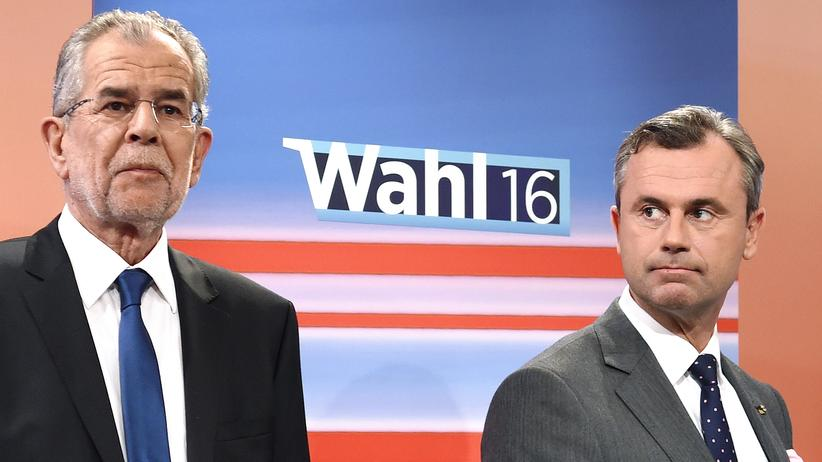 Österreich: Alexander Van der Bellen (links) und Norbert Hofer