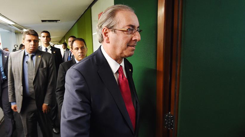 Brasilien: Parlamentspräsident Cunha verliert sein Amt