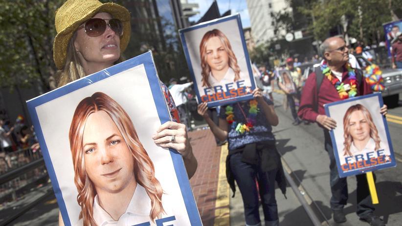 Chelsea Manning: Unterstützer fordern die Freilassung von Chelsea Manning. (Archivbild)