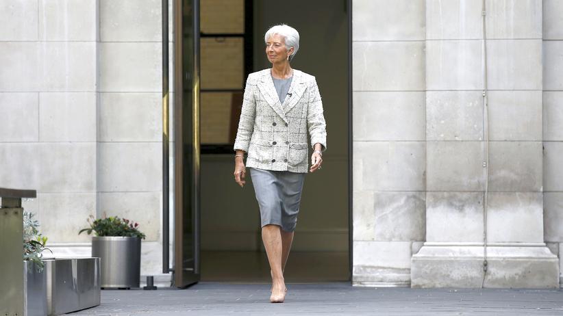 Christine Lagarde Kampf gegen sexuelle Übergriffe