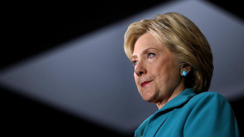 Hillary Clinton: Hillary Clinton bei einer Wahlkampfveranstaltung in Kalifornien
