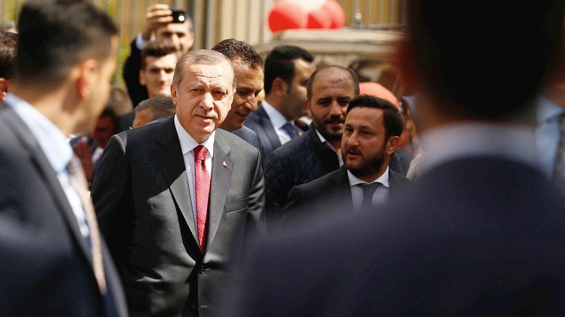Türkei-Deal: Polternder Autokrat: Recep Tayyip Erdoğan in Istanbul