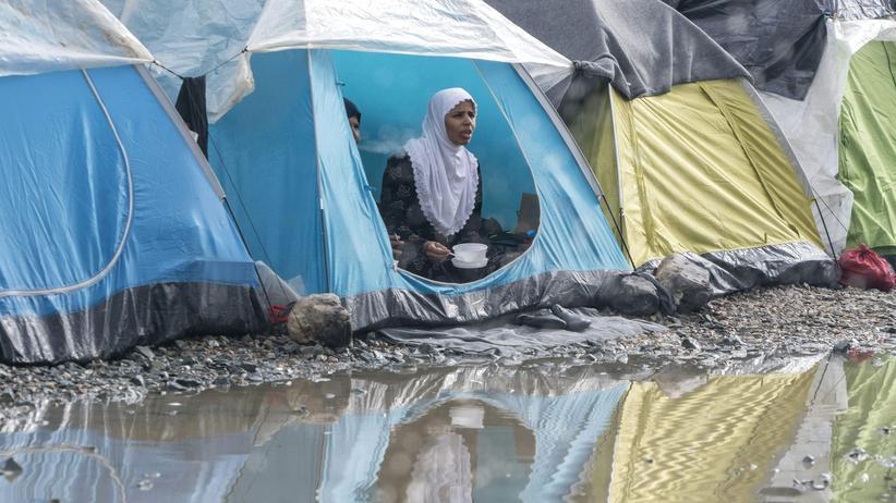 Flüchtlinge: Griechenland kündigt Räumung von Idomeni an