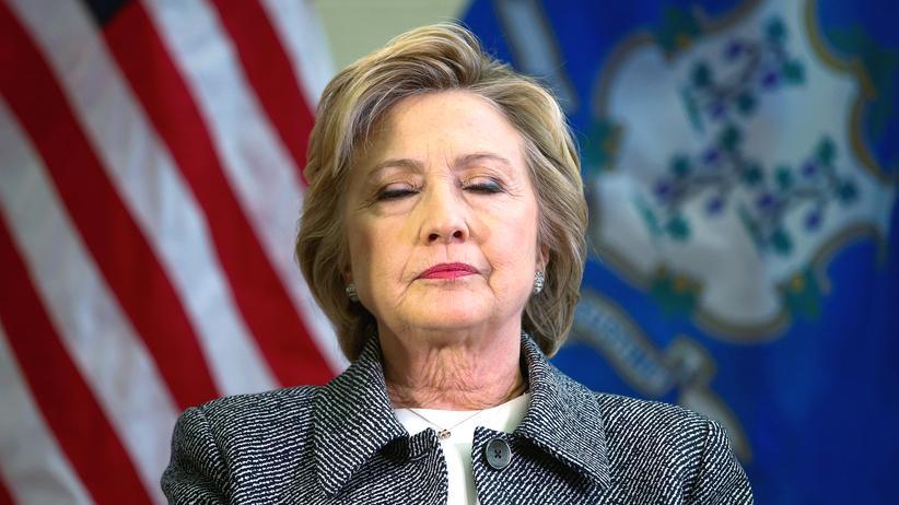 Hillary Clinton: Hillary Clinton bei einer Veranstaltung in Hartfort, Connecticut