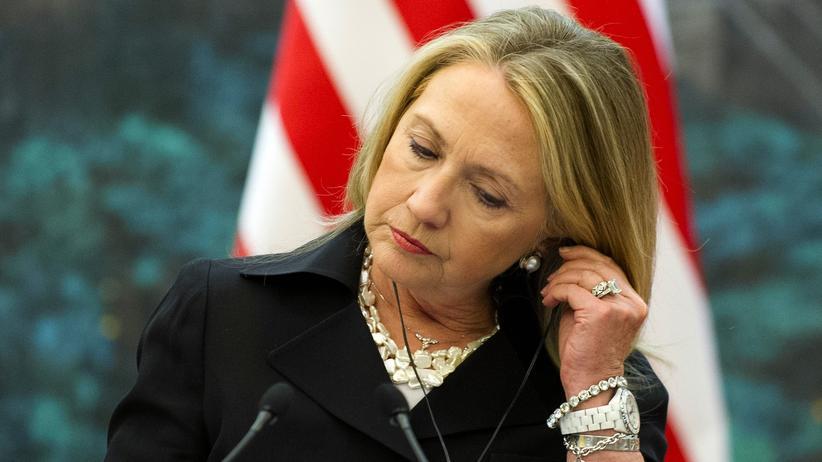 USA: Hillary Clinton in ihrer Zeit als Außenministerin im Jahr 2012