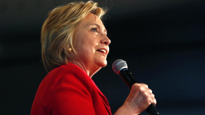 Die ehemalige Außenministerin Hillary Clinton