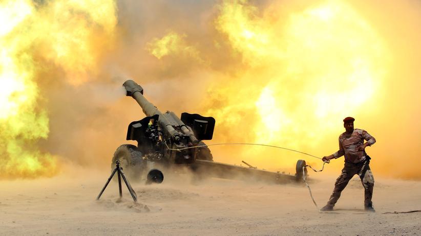 """""""Islamischer Staat"""": Die irakische Armee hat mit der Rückeroberung von Falludscha begonnen."""