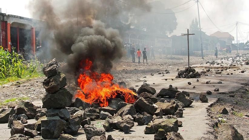 Kongo: Polizei geht mit Gewalt gegen Demonstranten vor