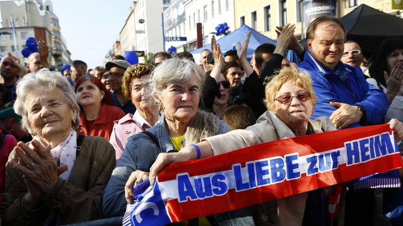 Österreich: FPÖ-Anhänger in Wien