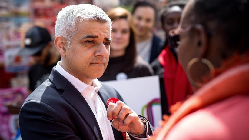 Großbritannien: Sadiq Khan wird neuer Bürgermeister von London