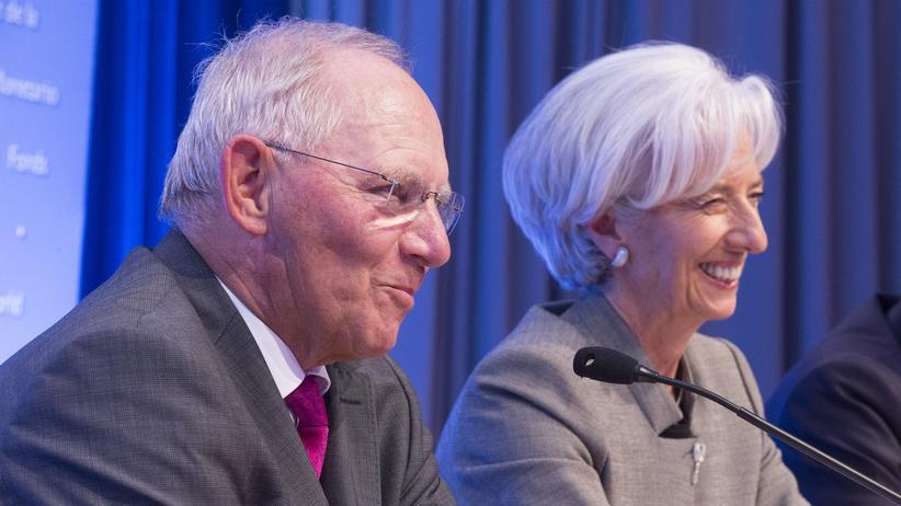 Wolfgang Schäuble Christine Lagarde