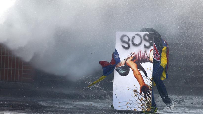 Nicolas Maduro: Proteste gegen die Regierung eskalierten in Venezuela mehrfach.