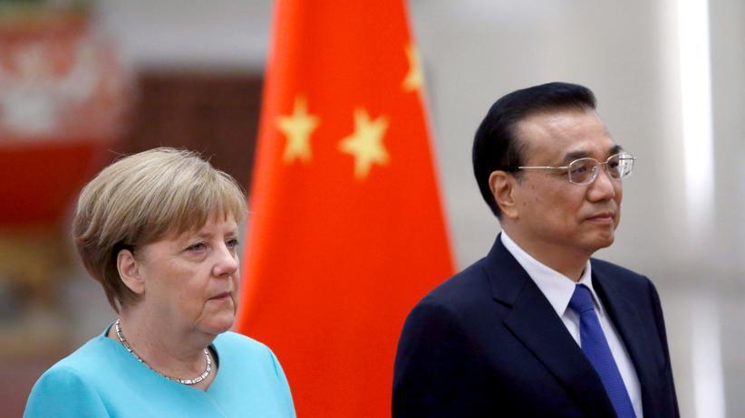 Peking: Merkel verlangt von China Rechtssicherheit