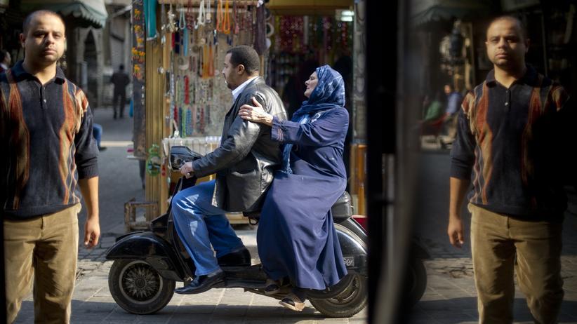 Übergriffe von Köln: Straßenszene in der Innenstadt von Kairo