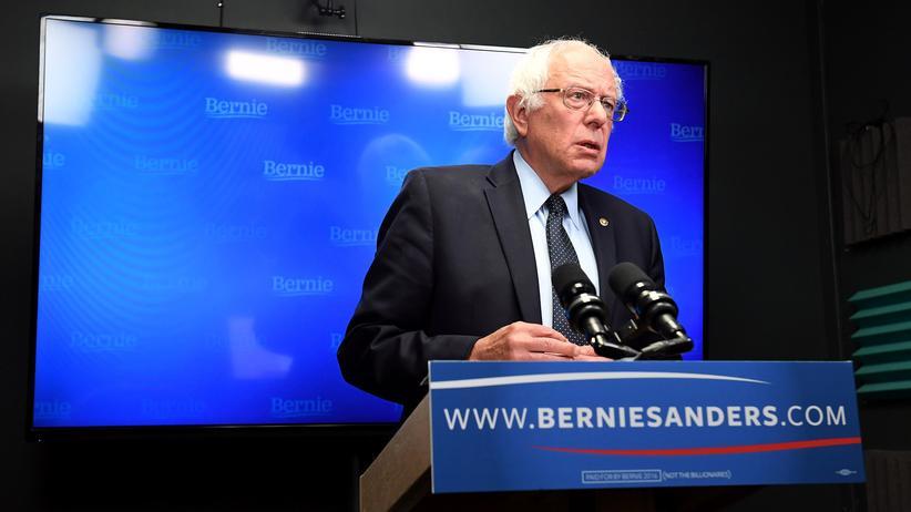 """Bernie Sanders: """"Wie es scheint, werde ich nicht der Kandidat sein"""""""
