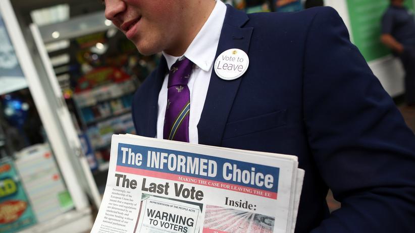 Brexit: Brexit-Befürworter legen Austrittsplan vor