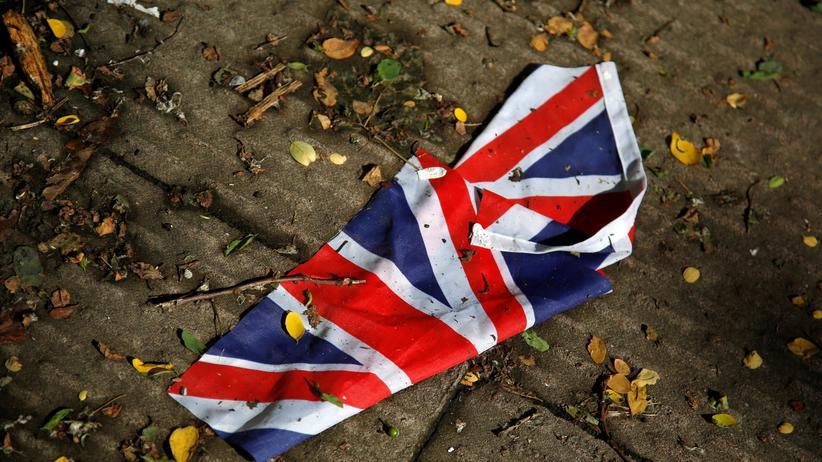 EU-Referendum: Die britische Union Jack auf den Straßen Londons