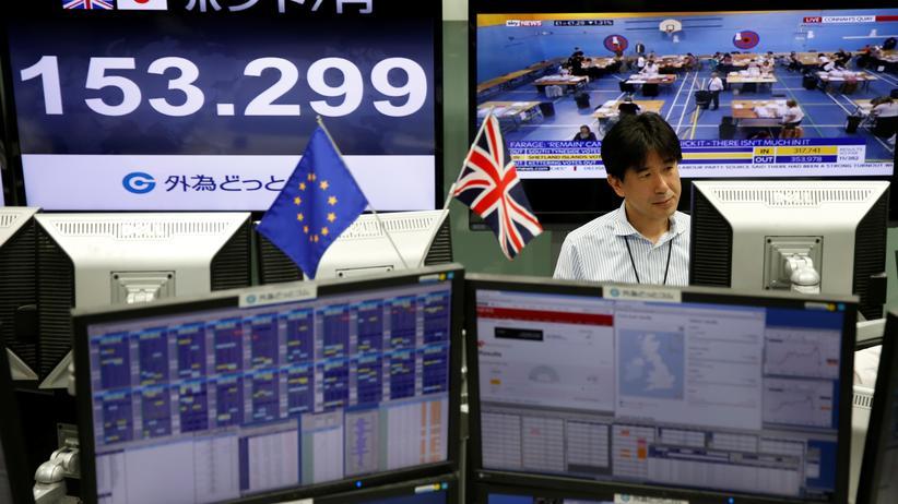 Pfund Sterling: Schock an den Finanzmärkten