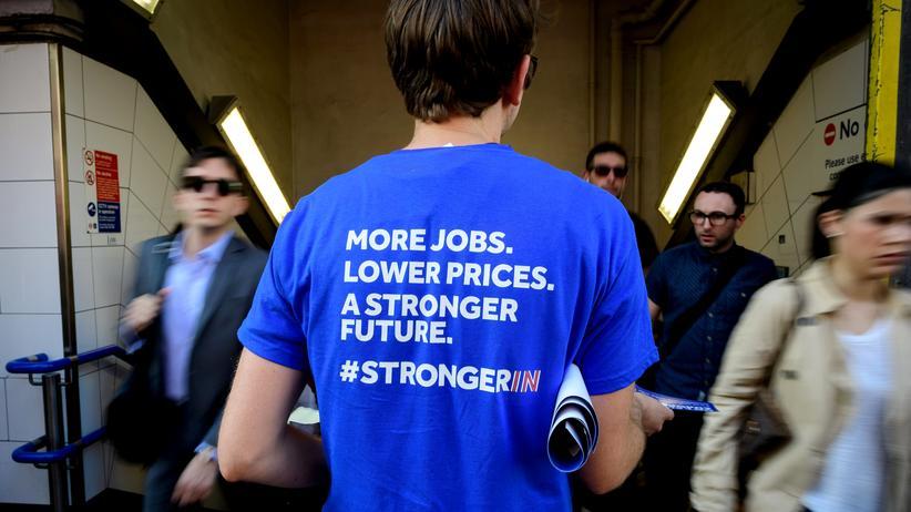 Brexit-Abstimmung: Politik in der Fußgängerzone