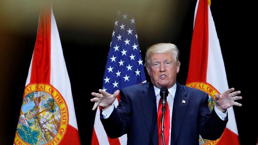 Orlando: Donald Trump bei einer Wahlkampfveranstaltung in Florida
