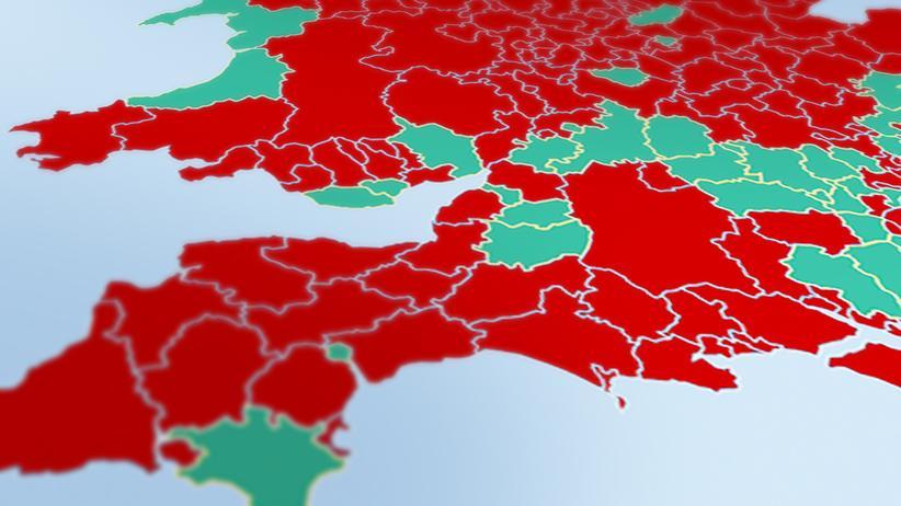 Wahlergebnisse: So haben die Briten abgestimmt