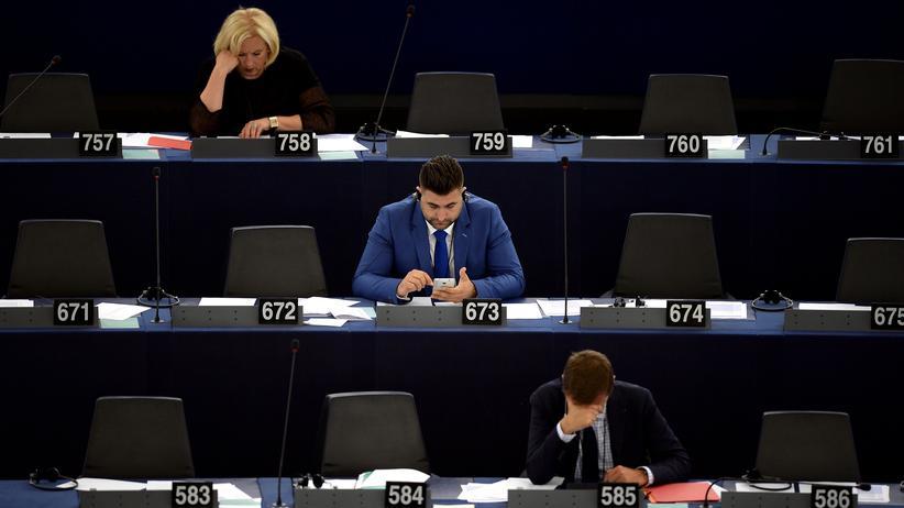 EU: Das europäische Parlament in Straßburg