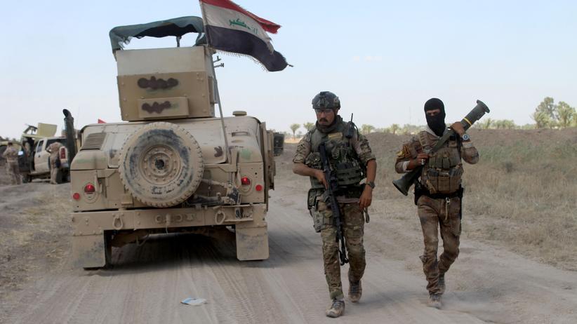 Irak: Beim Ansturm auf Falludscha ist das irakische Militär auf Gegenwehr gestoßen.
