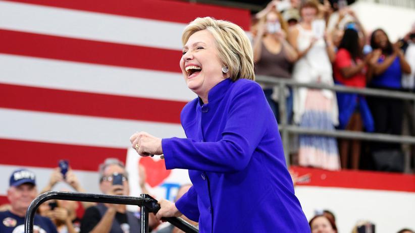 US-Wahl: Clinton darf sich sicher fühlen