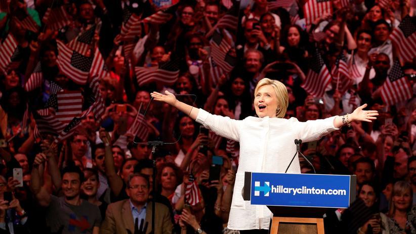 Hillary Clinton: Ab durch die Glasdecke