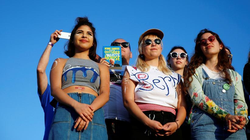 USA: Die junge Generation unterstützt vor allem Bernie Sanders