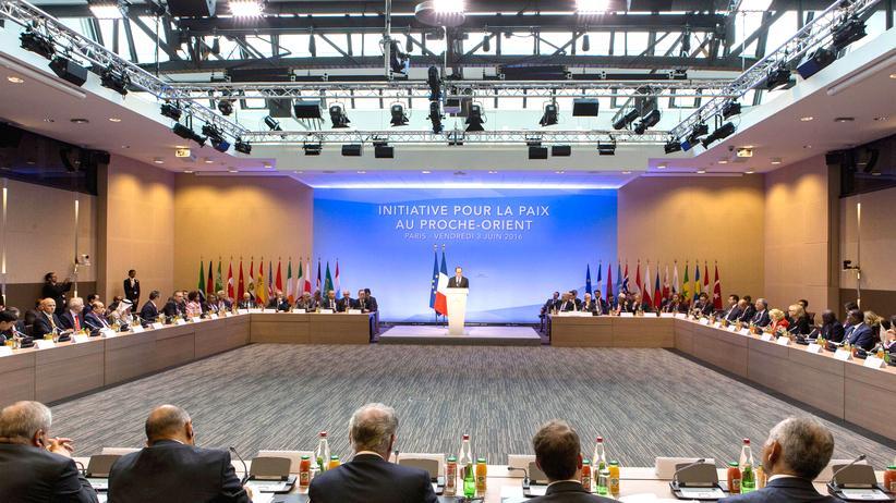 Nahost-Friedensprozess Bündnis Paris