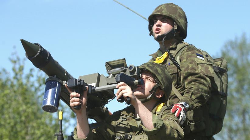 Russland: Nato-Truppenübung bei Otepää in Estland (Archivbild)