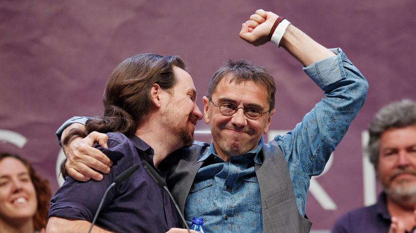 """Podemos: """"Für mich ist Schäuble ein Radikaler"""""""