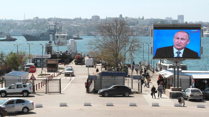 Sanktionen Russland Krim Sevastopol Hafen