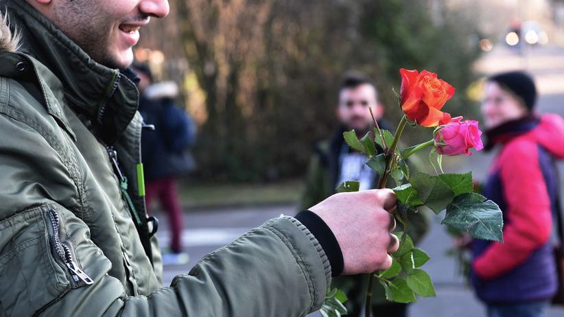 Flüchtlingspolitik: Ein Flüchtling aus Marokko in Köln
