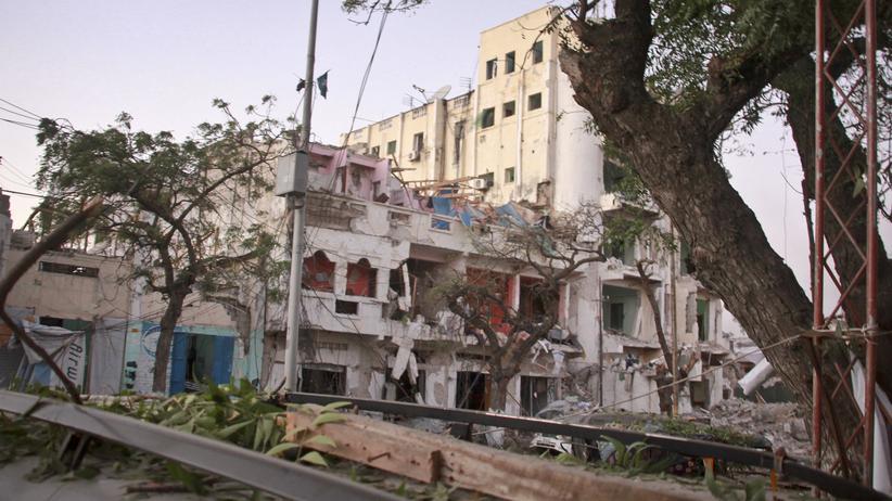 Somalia: Anschlag auf Hotel in Mogadischu