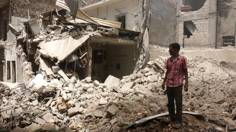 Syrien: Trümmer prägen das Stadtbild von Aleppo.