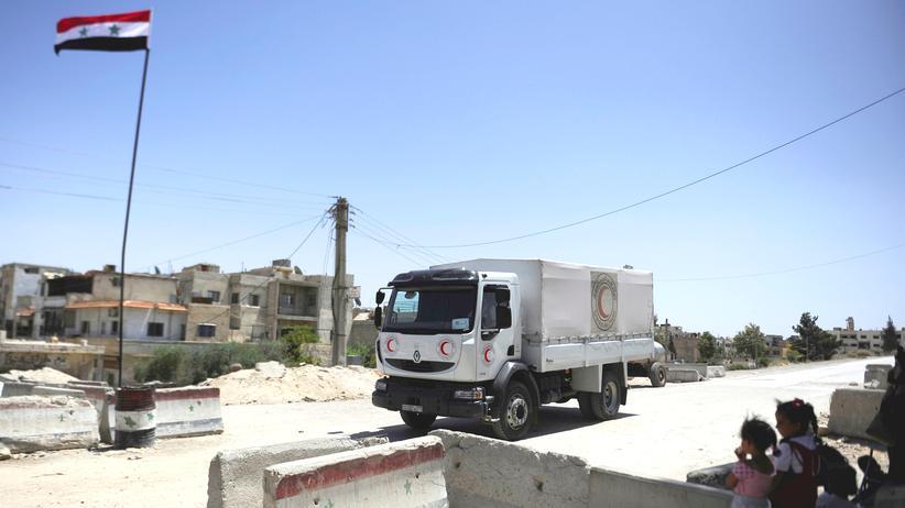 Syrien Hilfslieferungen Belagerte Städte