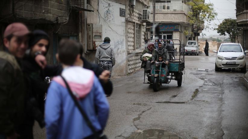 Homosexualität: Junge Männer in einem Vorort von Damaskus