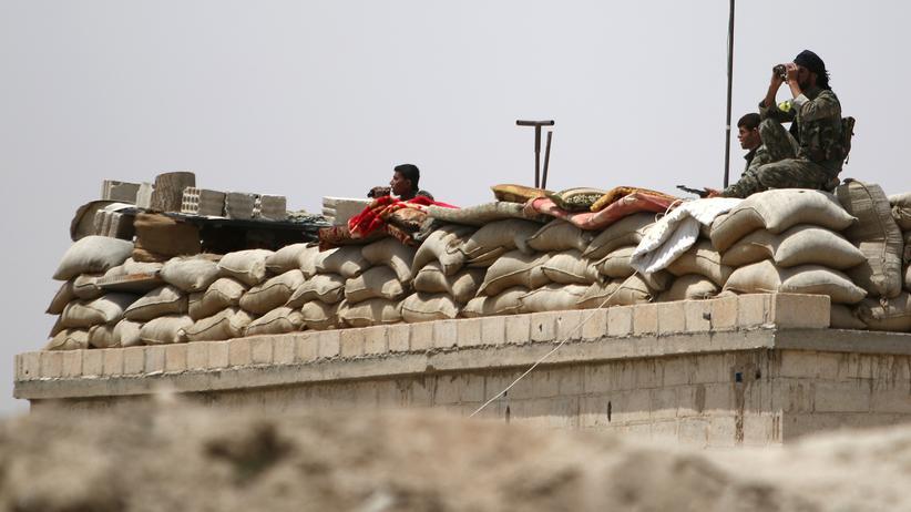 Islamischer Staat: Wachposten im Norden der Provinz Raka