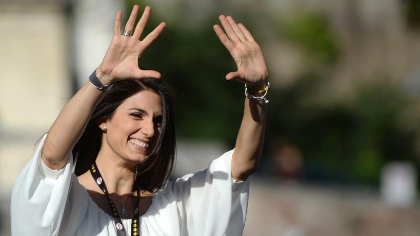 Rom: Fünf-Sterne-Kandidatin bei Bürgermeisterwahl klar vorn