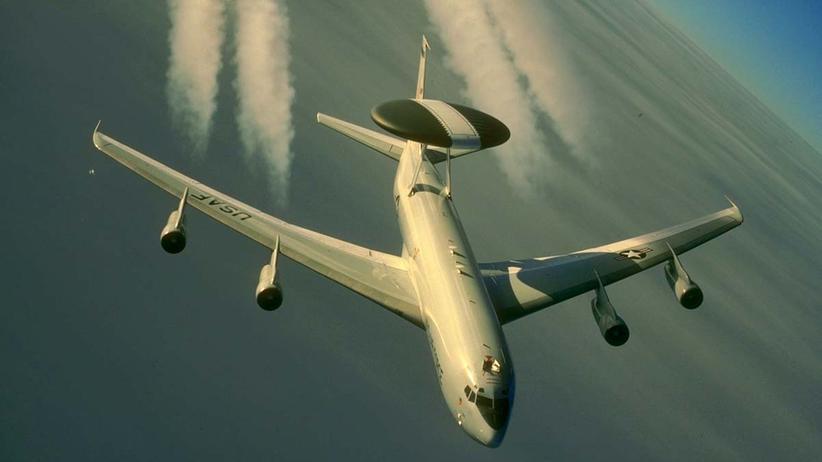 """""""Islamischer Staat"""": Ein Awacs-Aufklärungsflugzeug der US-Luftwaffe (Archivbild)"""