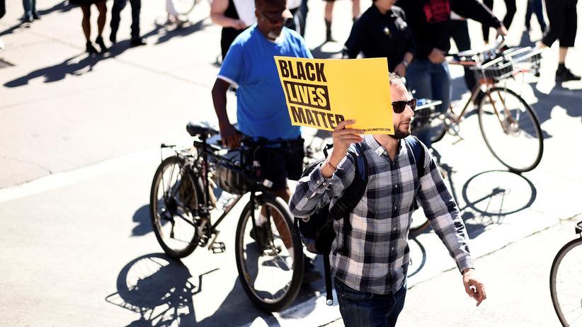 Black Lives Matter: Black-Lives-Matter-Protest in Oakland (Archivbild)