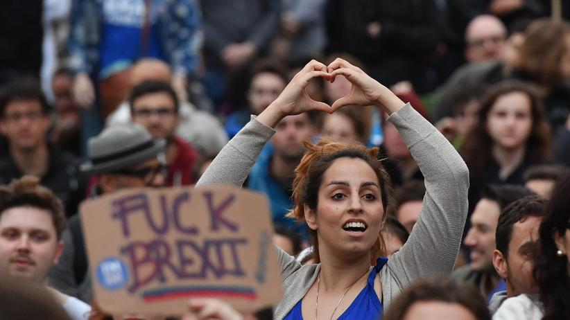 Protest gegen das Brexit-Votum in London