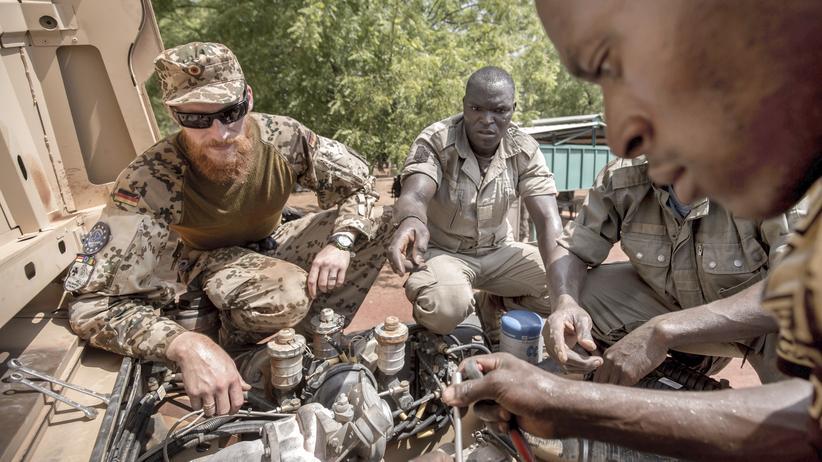 Bundeswehr: Soldat in Mali