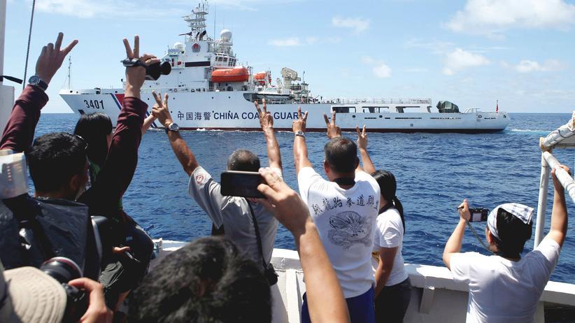 China Ansprüche im Südchinesisches Meer