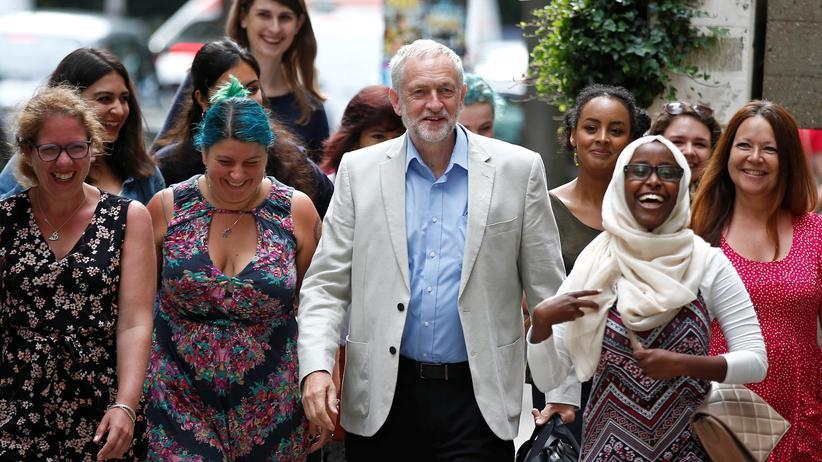 Jeremy Corbyn: Der Unbeirrbare