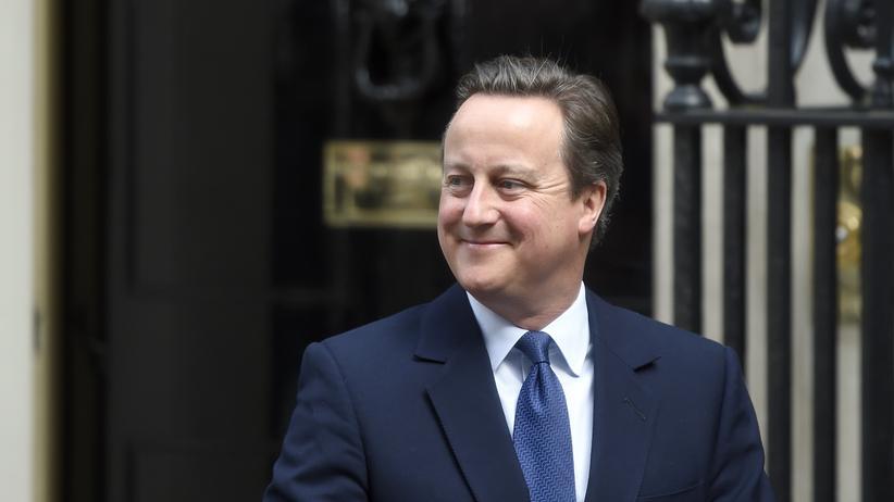 """David Cameron: """"Einmal war ich die Zukunft"""""""