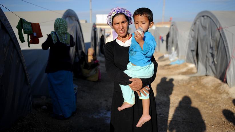 Brexit: Syrische Flüchtlinge im türkischen Suruc (Archivbild)